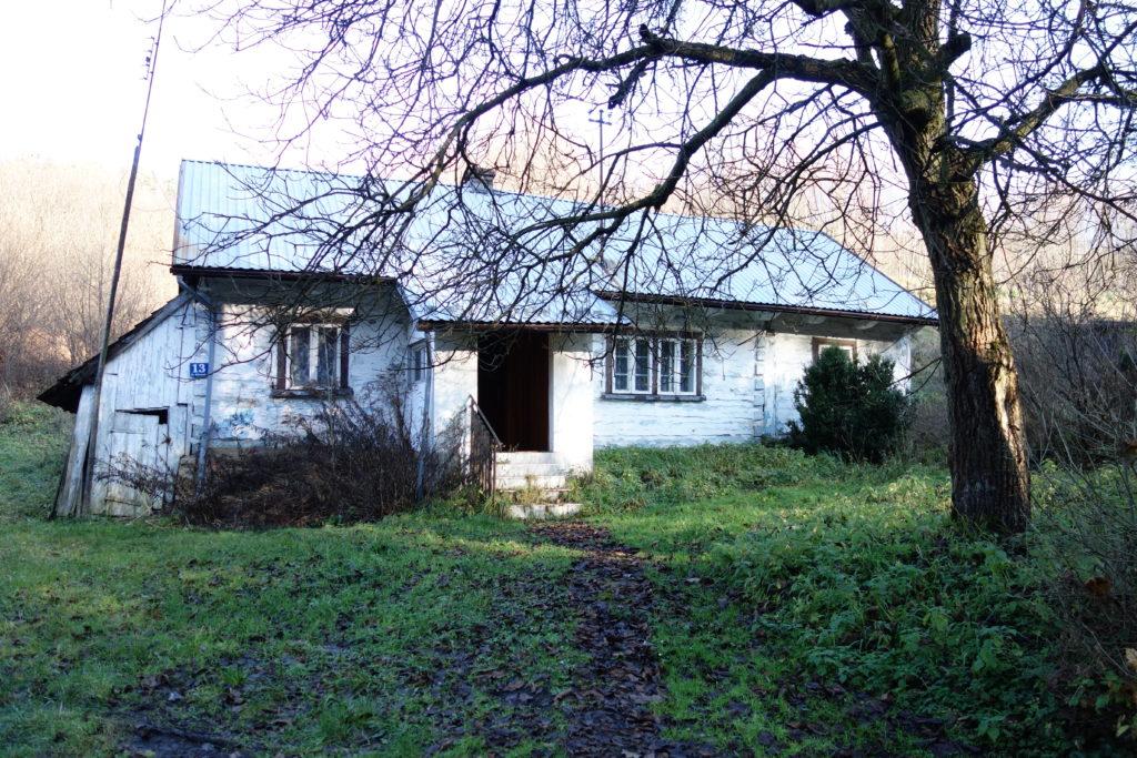 Stary drewniany dom