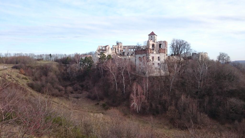 Zamek Tęczyn w Rudnie