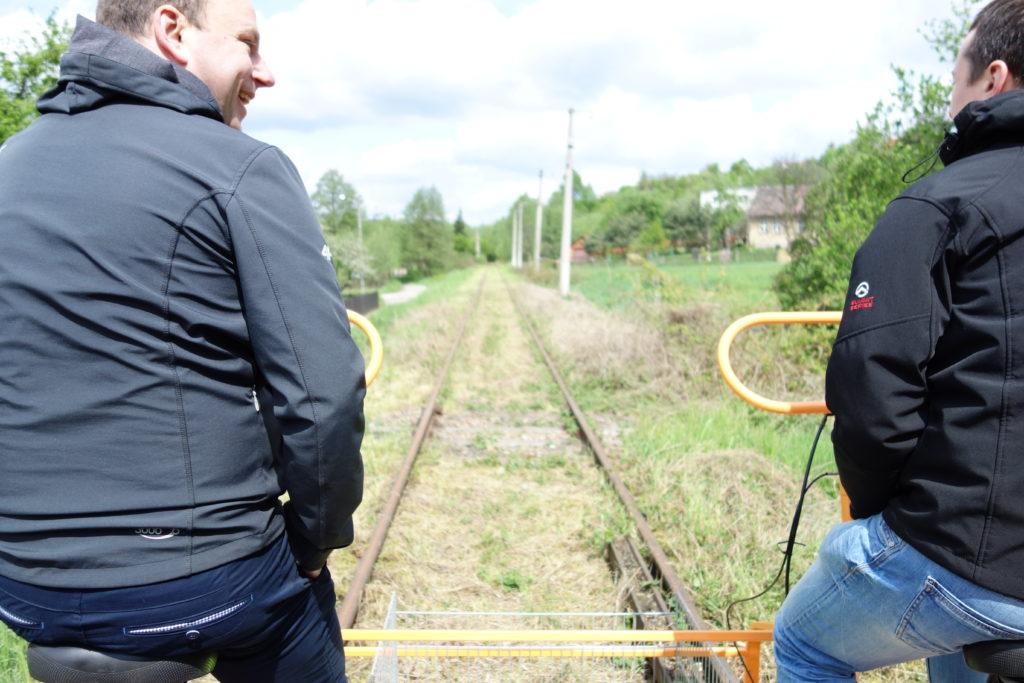 Trasa Lokalnej Kolej Drezynowej