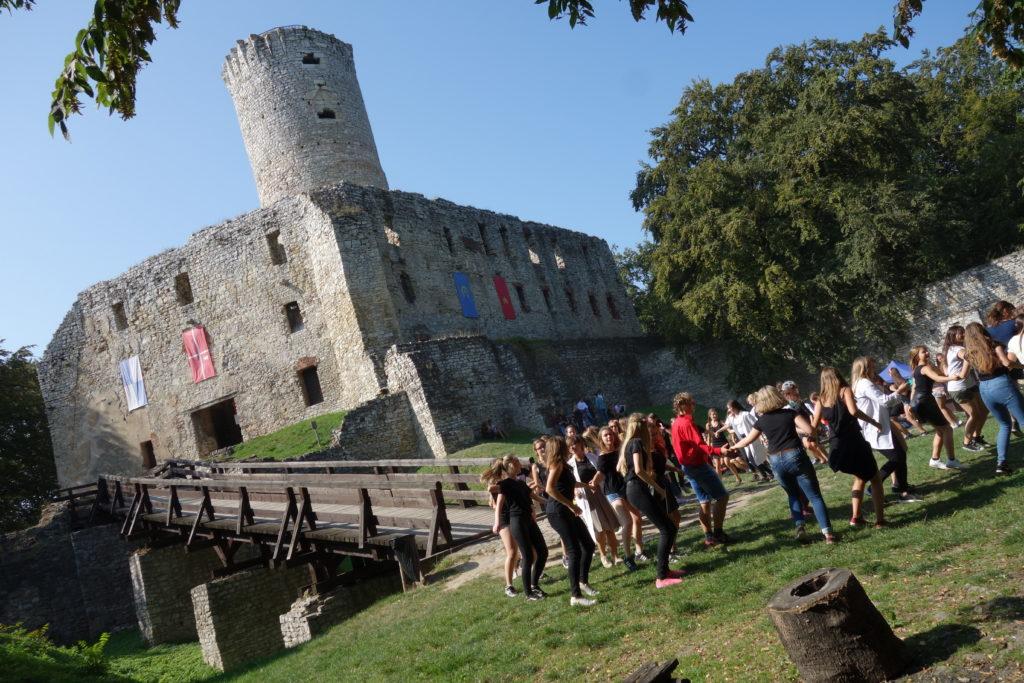 Zamek Lipowiec w Wygiełzowie